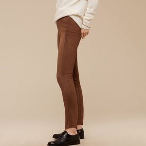 Suede legging/ pants